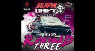 Details for round 3 of the 2018 Supadrift Series taking place at Dezzi Raceway