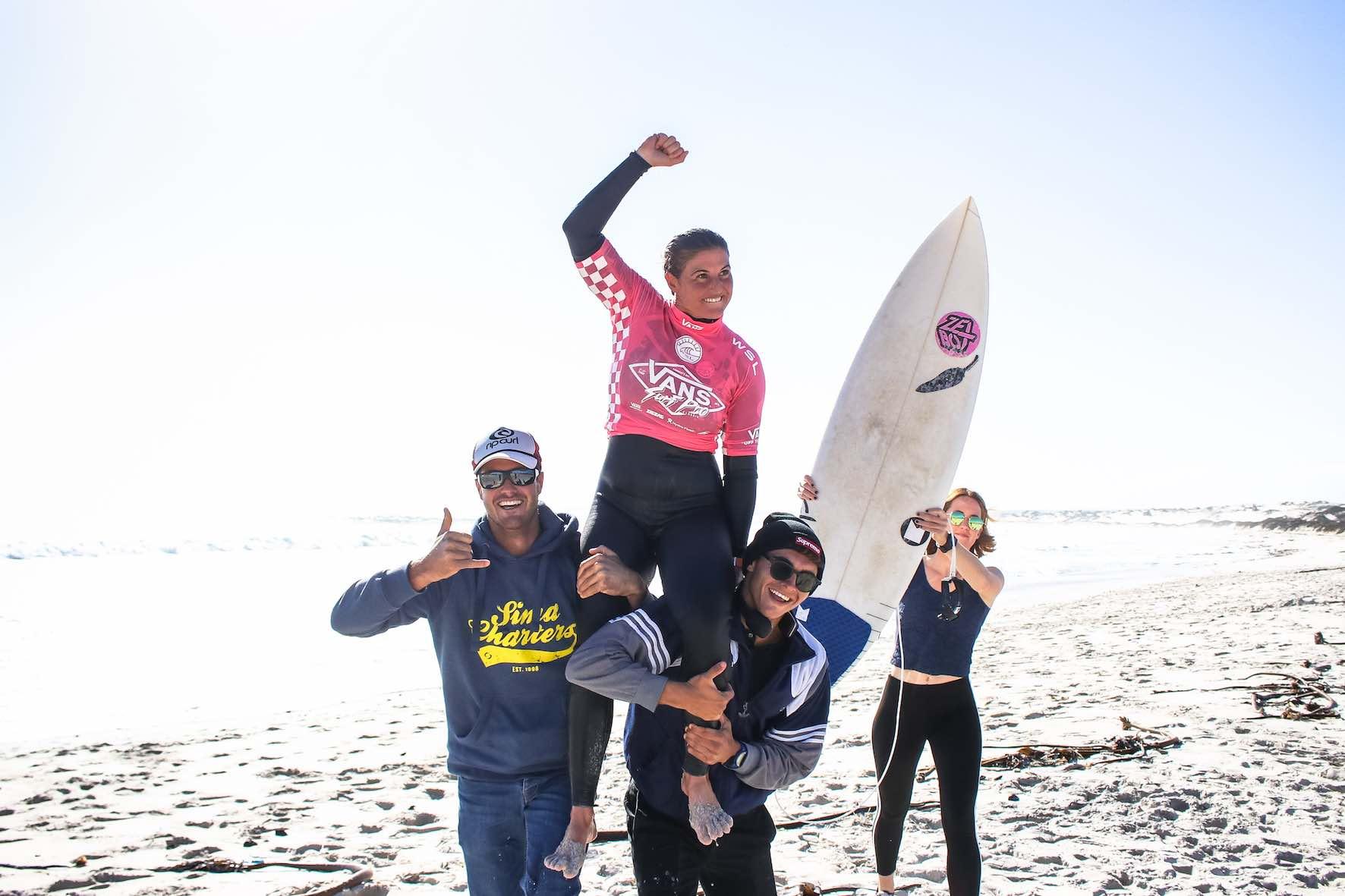 Cannelle Bulard wins the Vans Surf Pro Classic