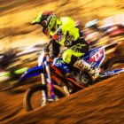 Kayla Raaff racing her way to victory at the Motocross Nationals