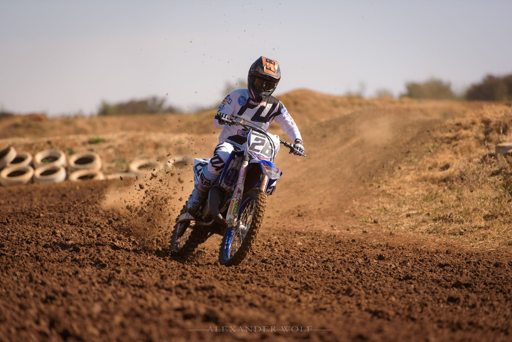 We talk motocross with Miguel de Waal