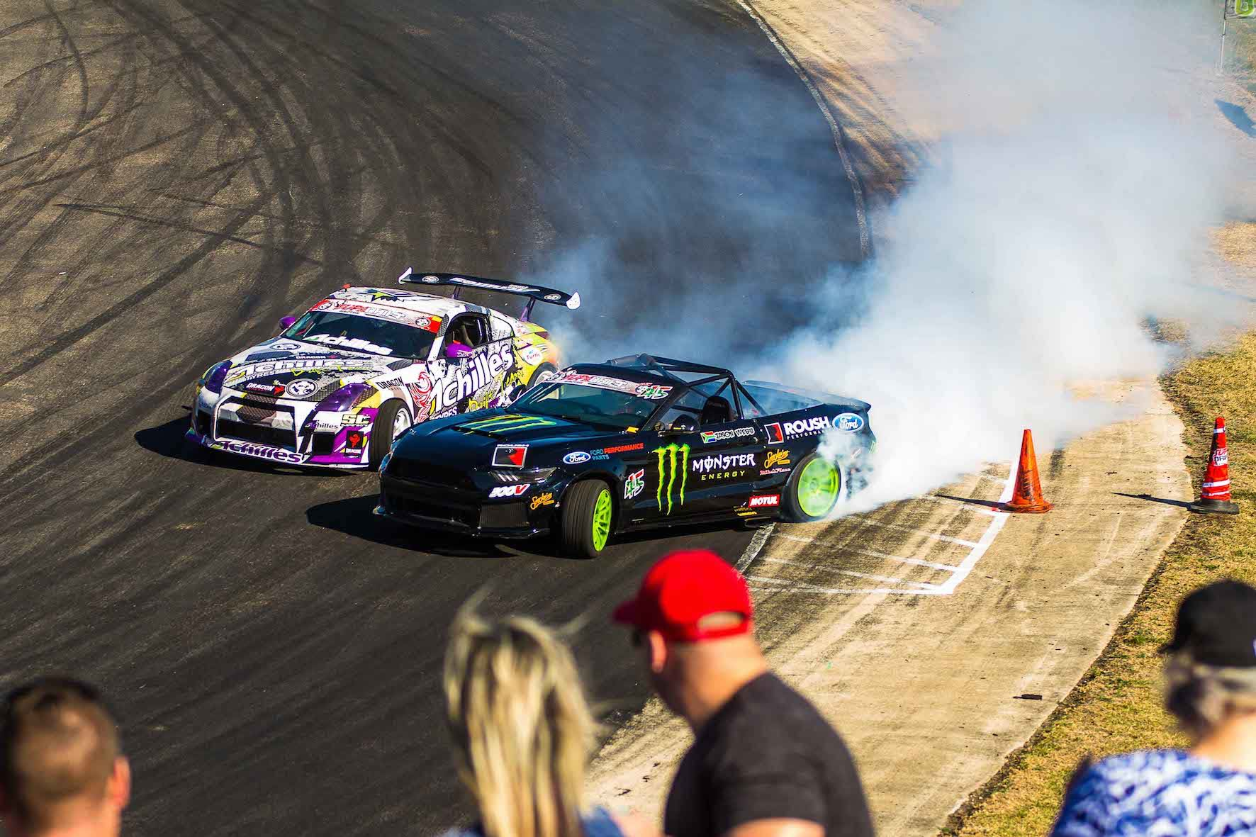 Jason Webb drifting his way to victory at Round 3 of the SupaDrift Series
