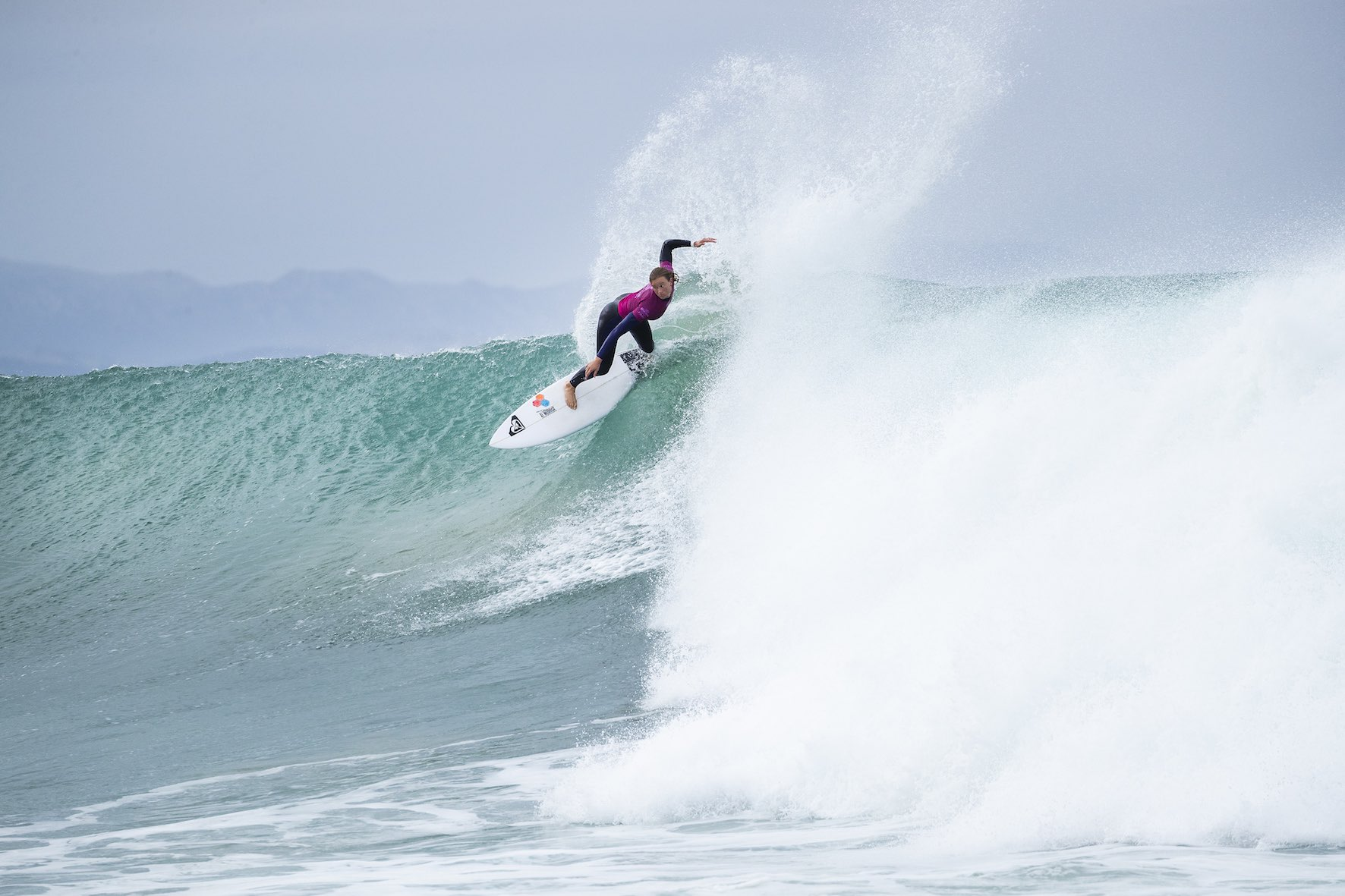 Bianca Buitendag surfing her way to 3rd place at the 2018 Corona Open J-Bay
