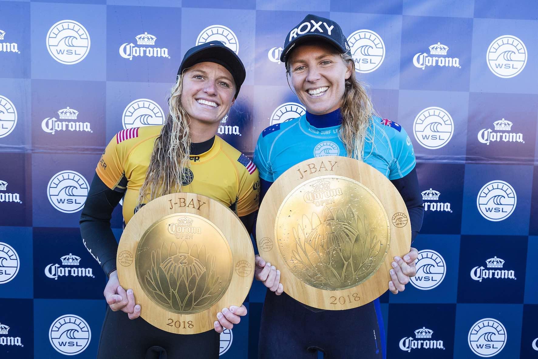 2018 Corona Open J-Bay Women's podium