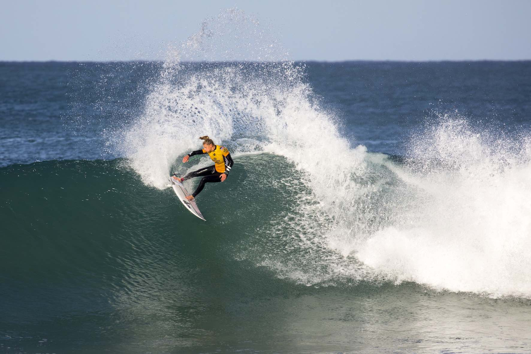 Lakey Peterson surfing her way to 2nd place at the 2018 Corona Open J-Bay
