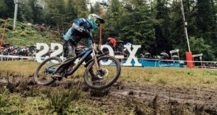 Martin Maes wins the Downhill MTB World Cup in La Brasse, France
