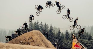 Review, results and highlights video from the 2018 Red Bull Joyride Freestyle MTB event