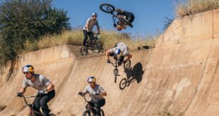 Earlier this year Murray Loubser, Kenneth Tencio, Nathi Nkosi and Eric Garbers set off on a BMX roadtrip through Johannesburg, Kimberley and the drought-stricken Western Cape to session some otherwise inaccessible features.