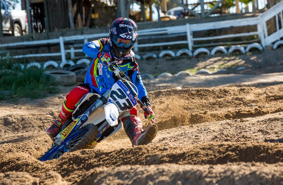 King of the Corner at the Holeshot Glory MX event.