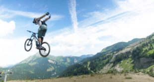 Spending time shredding his new Downhill MTB rig in the French Alps, Cape Town's Theo Erlangsen has been sending huge hucks with mad speed and style.