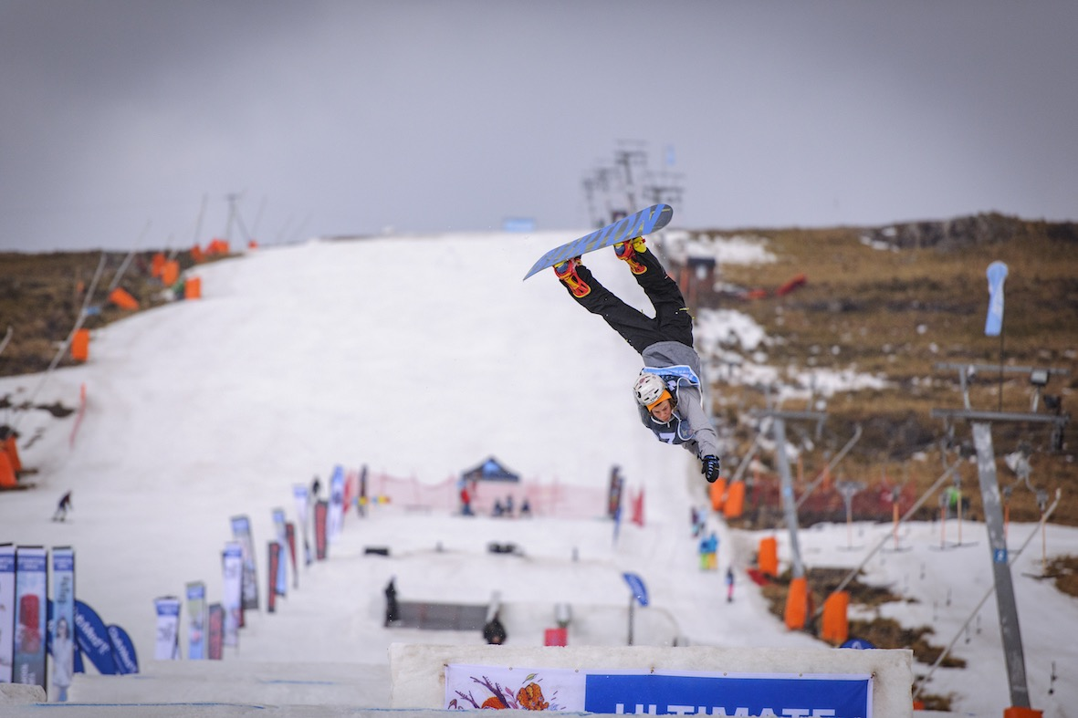 Ethan Terblanche wins the junior division at Ultimate Ears Winter Whip