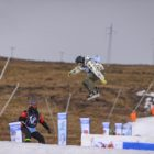 Kevin Hingst competing in the Open Mens Slopestyle comp at Ultimate Ears Winter Whip