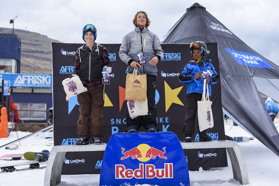 2018 Ultimate Ears Winter Whip Juniors Podium