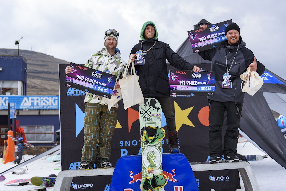 2018 Ultimate Ears Winter Whip Open Mens Podium