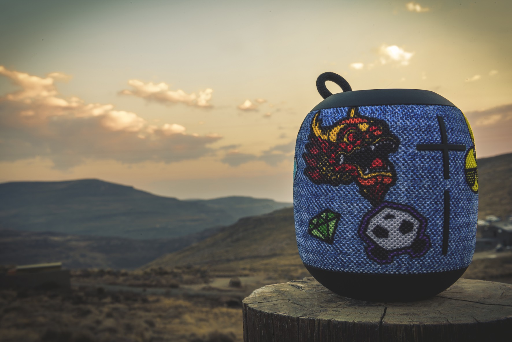 Product feature with the new Ultimate Ears Wonderboom Freestyle Collection