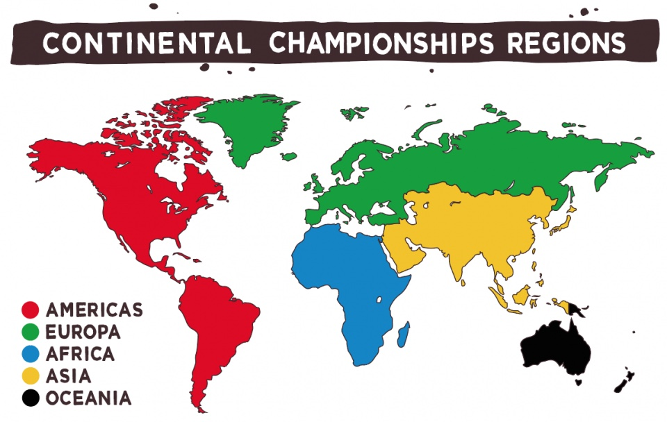 2018 Vans Park Series Continental Championship Regions