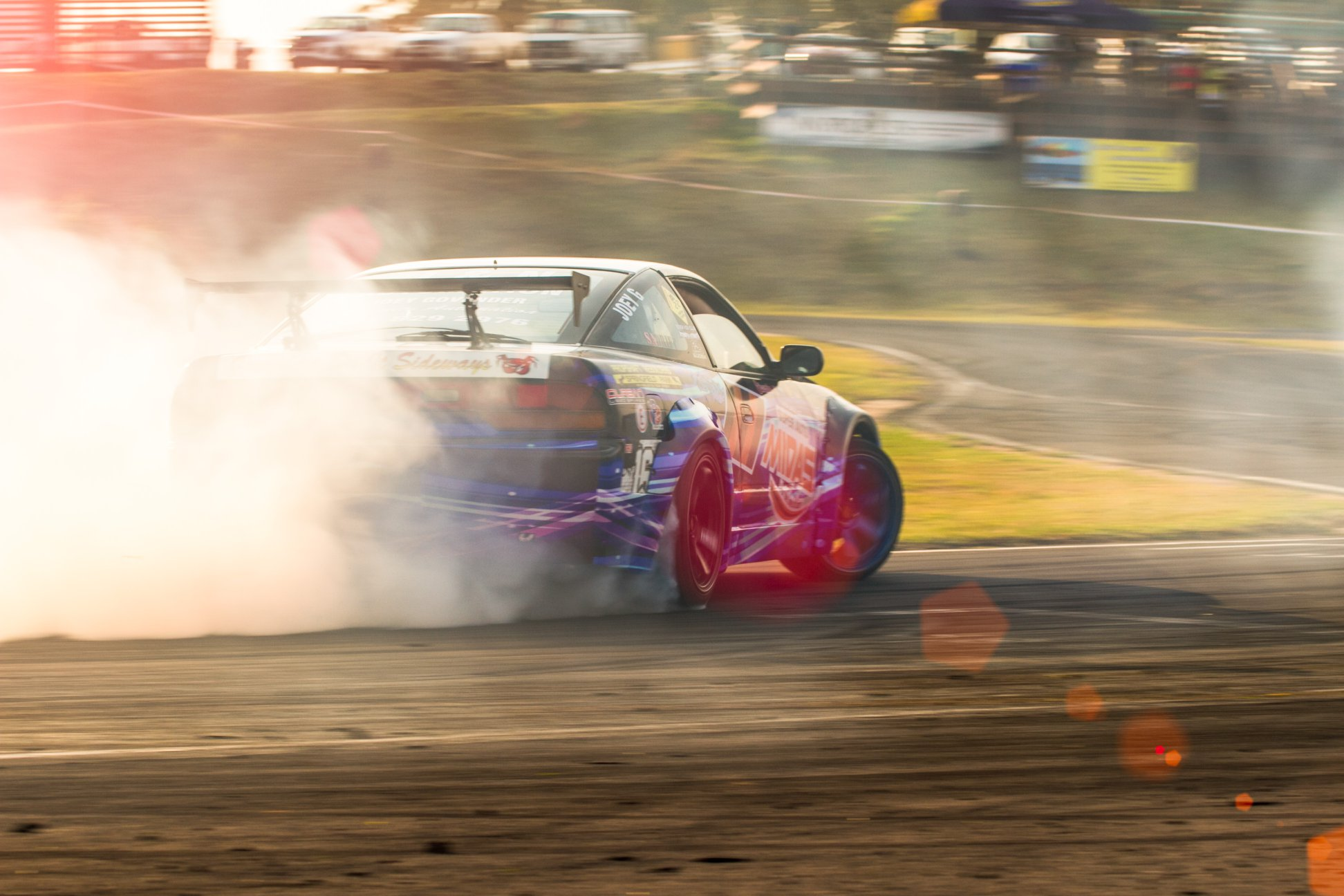 Drift report from Round 5 of the SupaDrift Series
