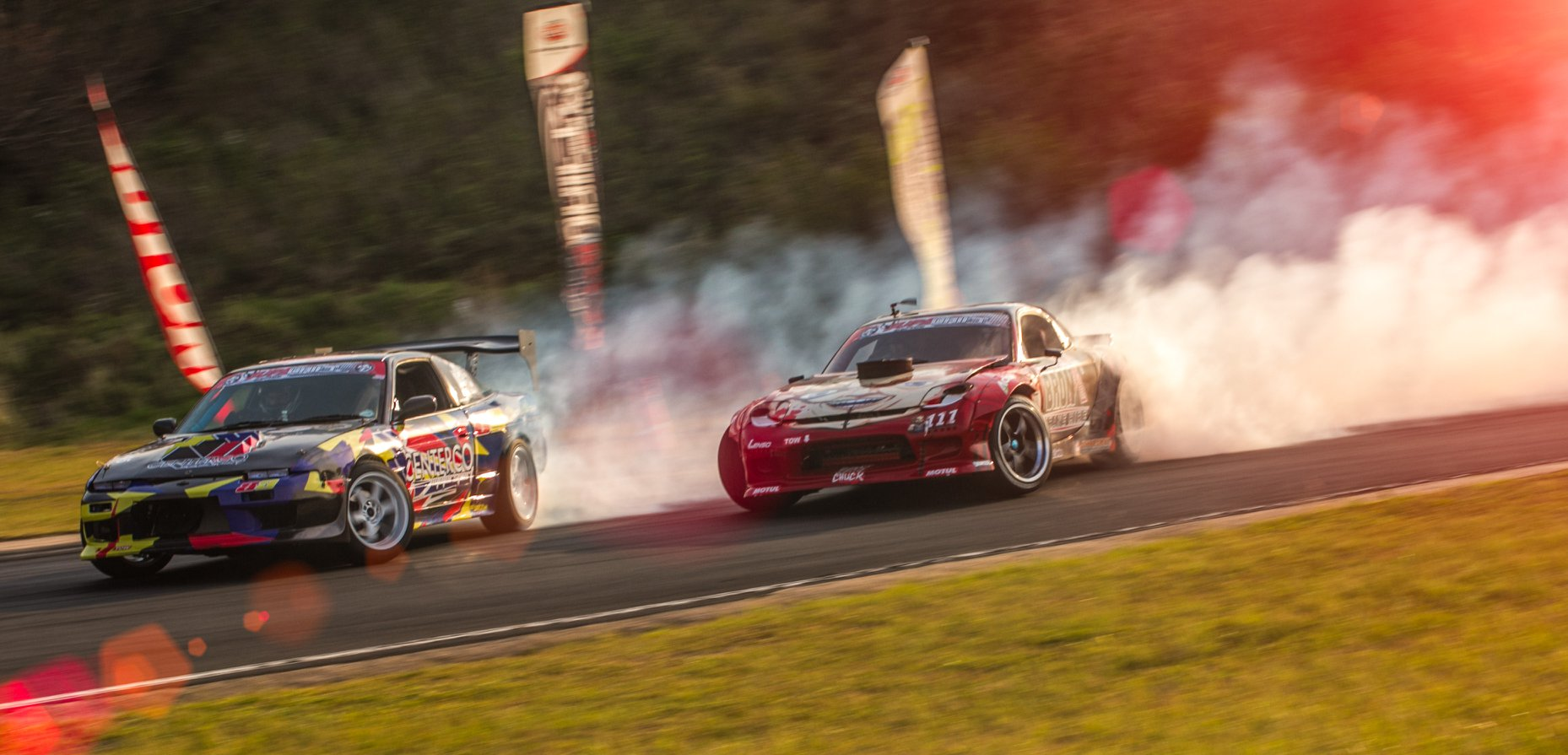 Drifting action at SupaDrift Series 05