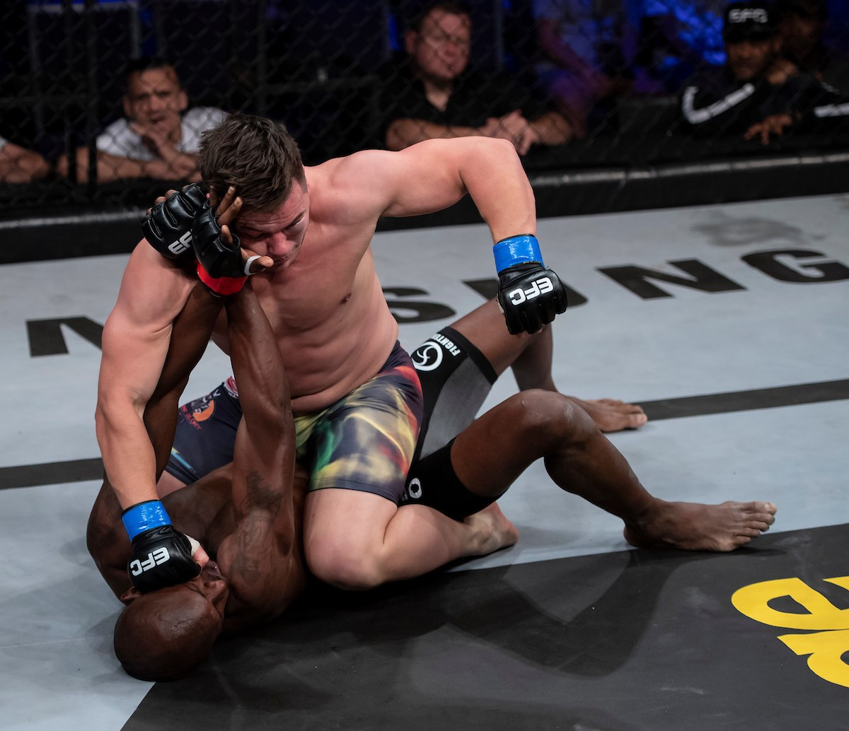 Results from all 11 Mixed Martial Arts fights from EFC 73