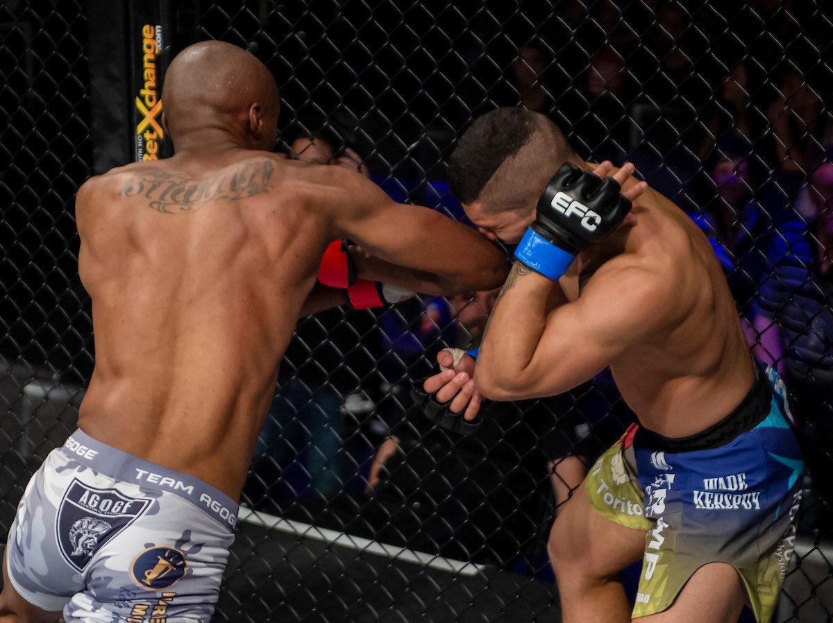 Mixed Martial Arts action at its best from EFC 73 at Sun City