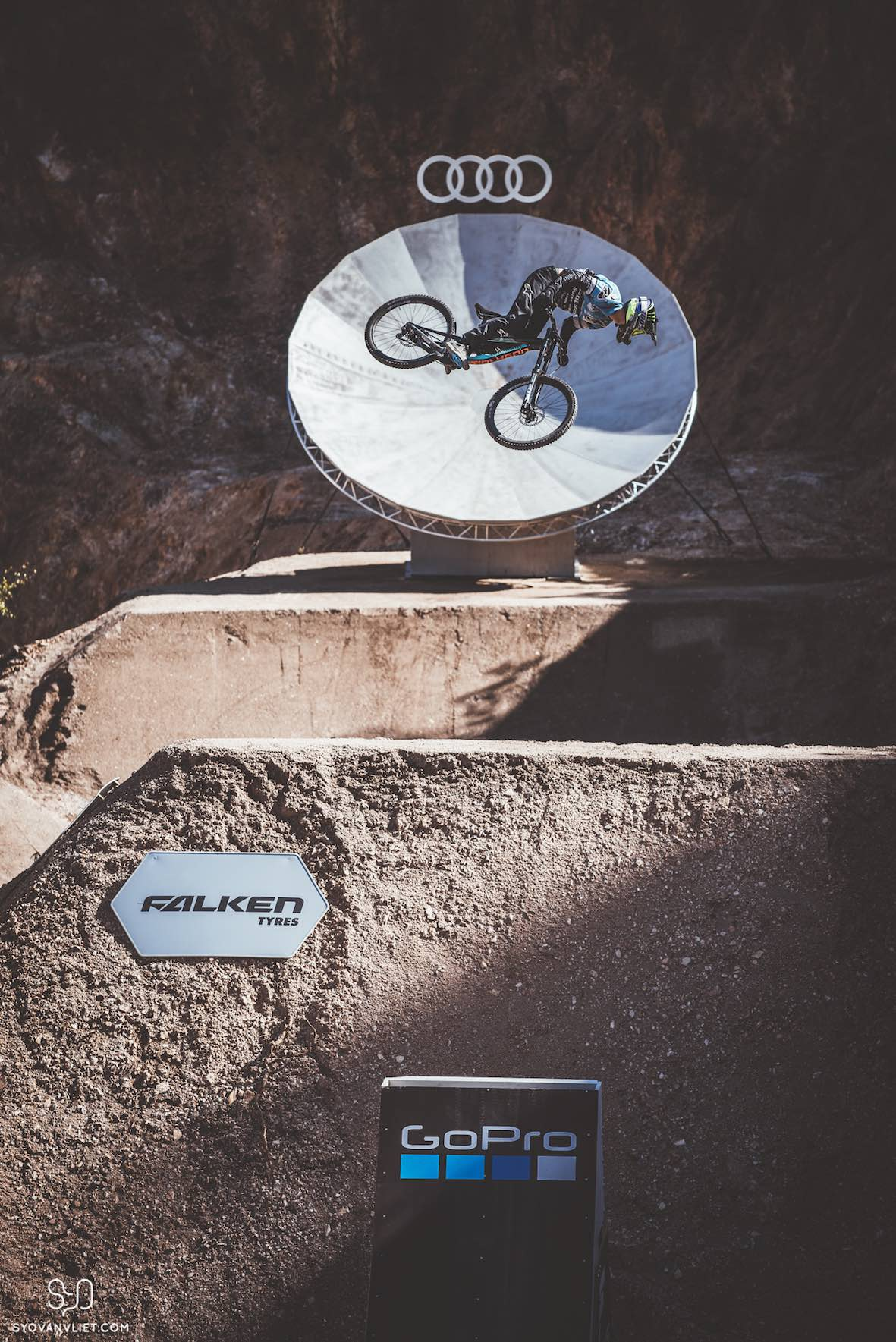 Interview with Sam Reynolds about the Audi Nines Slopestyle MTB event