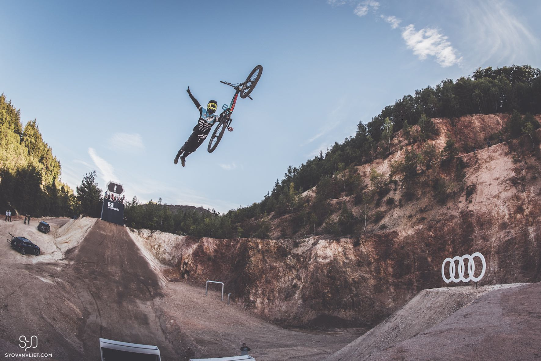 Interview with Sam Reynolds about the Audi Nines MTB event