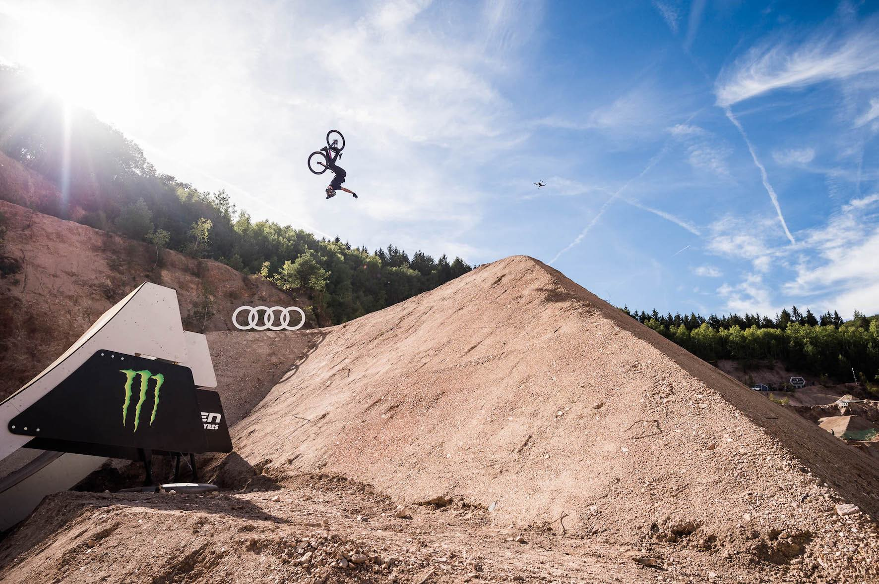We interview Max Fredriksson about riding at the Audi Nines MTB event