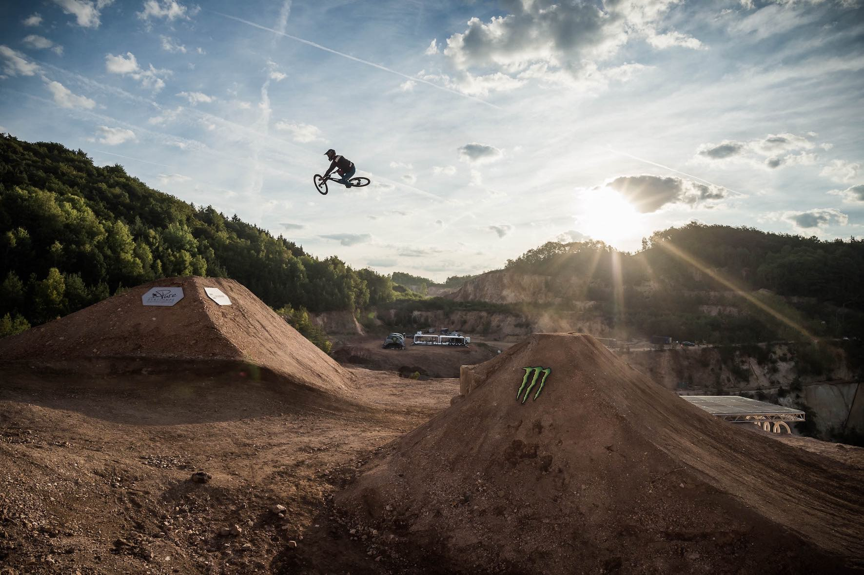 Playing a huge part and sending it just a big, we interview Clemens Kaudela about The Audi Nines Freeride and Slopestyle Mountain Bike event.
