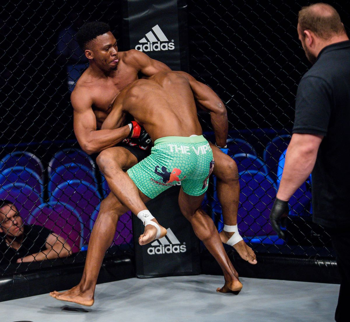 MMA action from EFC 74 held at Carnival City in Johannesburg