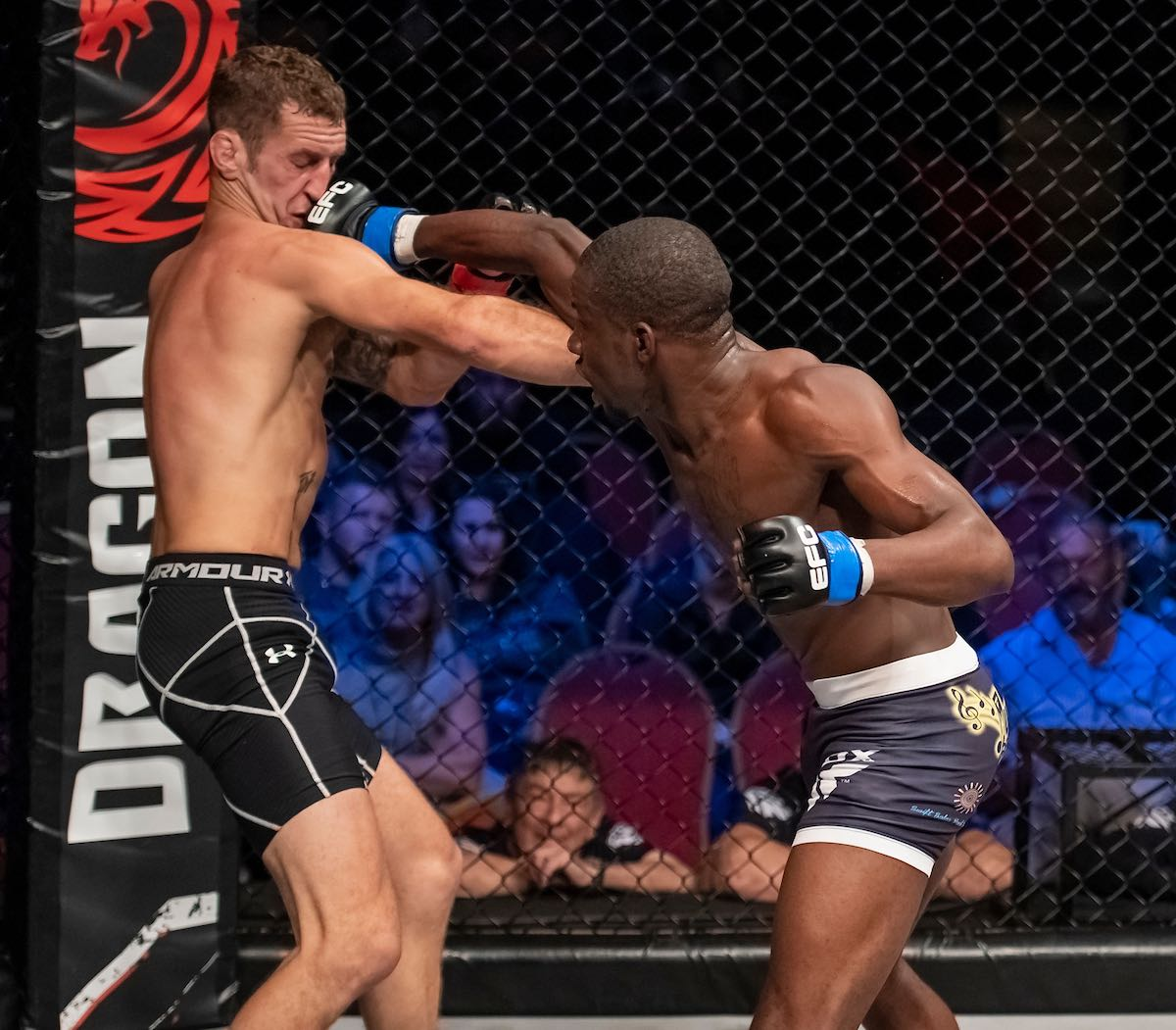 EFC Featherweight Title Fight between Igeu Kabesa and Calum Murrie