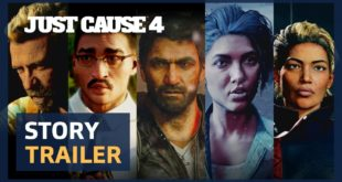 Now rogue from the Agency, Rico Rodriguez visits Solís in South America on a mission to uncover the truth behind his father's death. Watch the Just Cause 4 Story Trailer here.