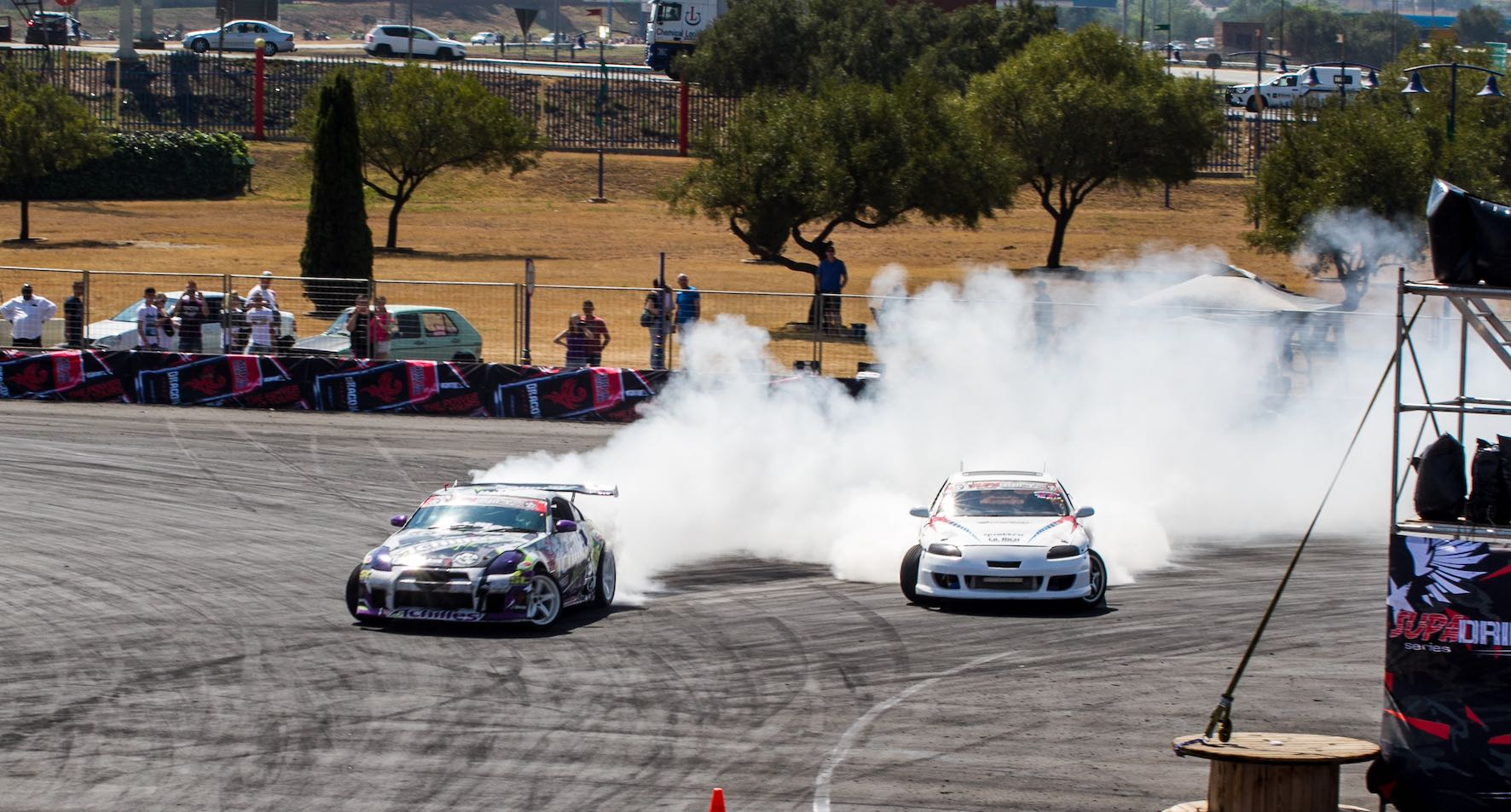 Drifting action at its best from the final round of the 2018 SupaDrift Series