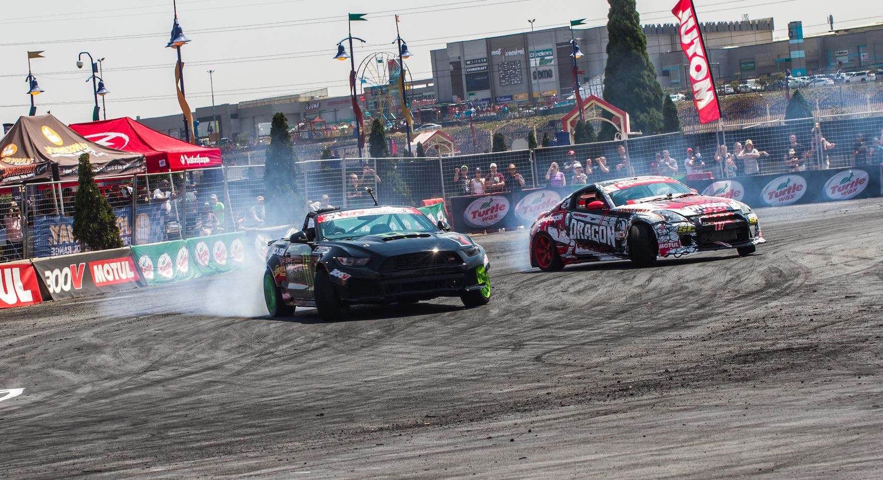 Jason Webb drifting his way to victory in the 2018 SupaDrift Series championship