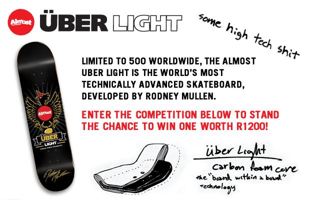Skateboarding Almost Uber Light