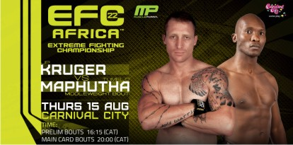 MMA EFC Africa 22 Mixed Martial Arts