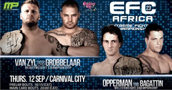 MMA EFC Africa 23 Mixed Martial Arts