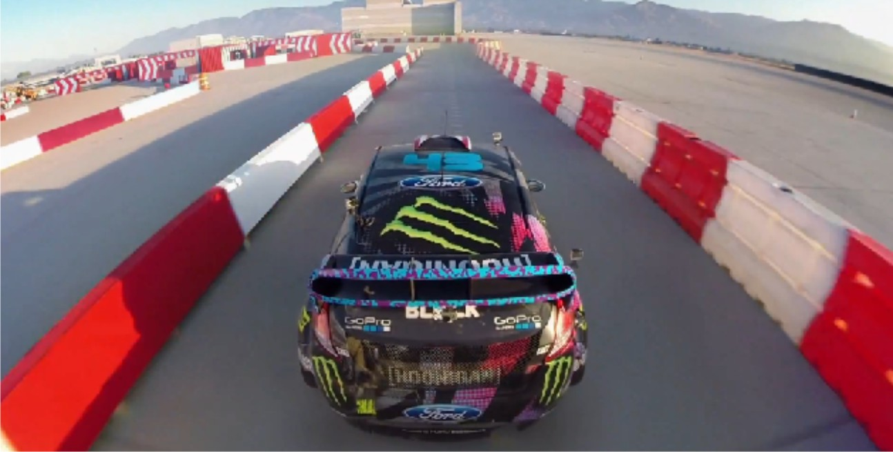 Ken Block shows his driving talent in the awesome Gymkhana 6 video
