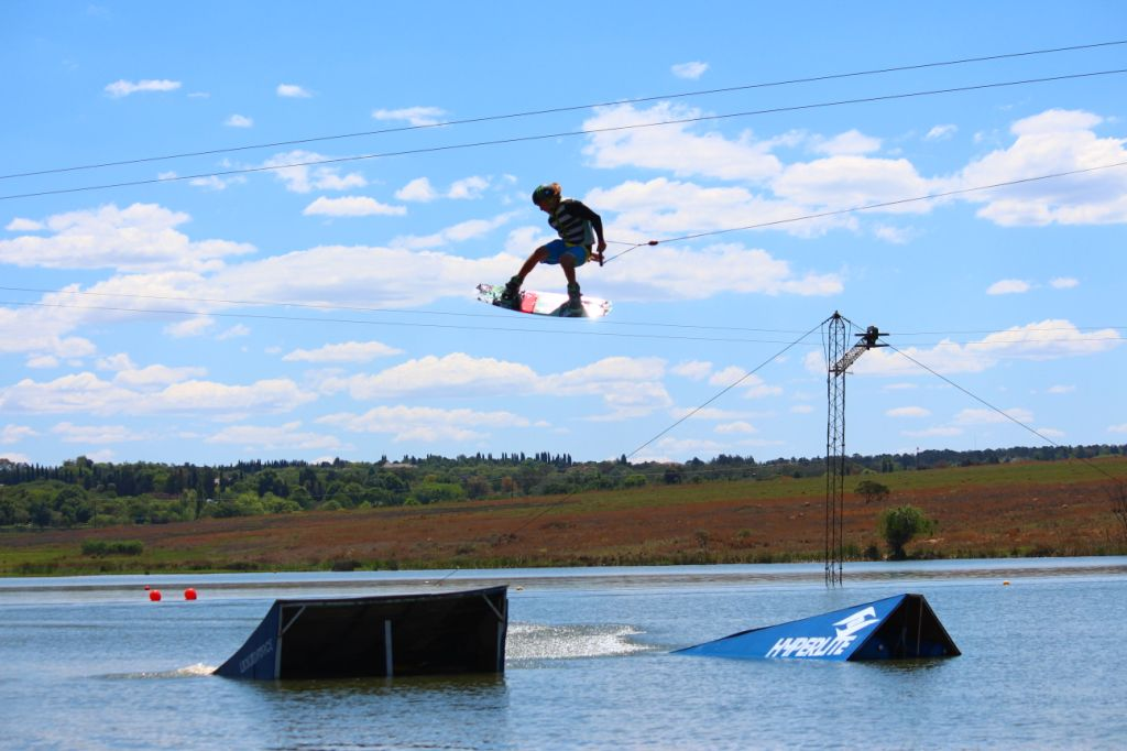 Wakeboarding action at its best at the Ticket 2 Ride contest