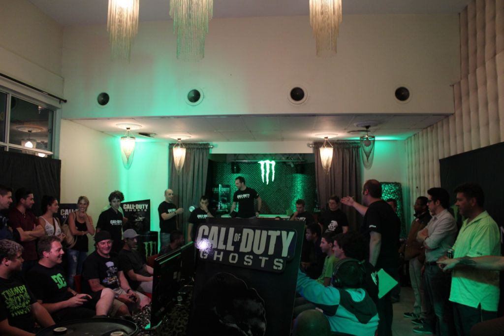 Gamers getting their first taste of Call of Duty Ghosts