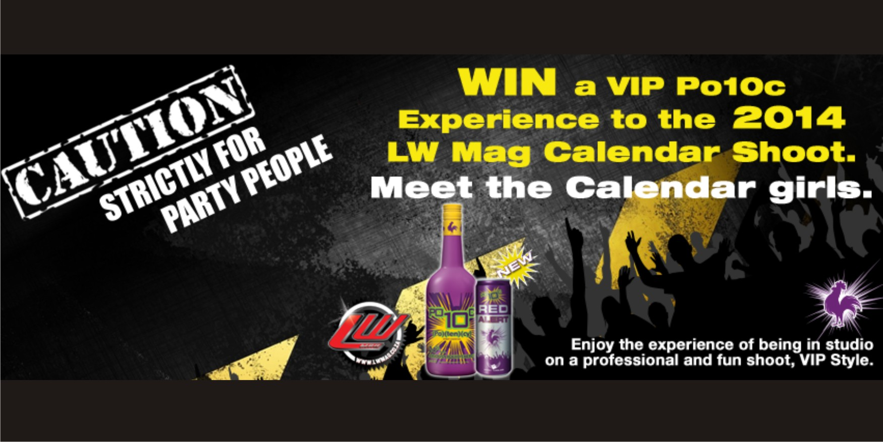 Win a VIP experience to the LW Mag Po10c 2014 Calendar Shoot