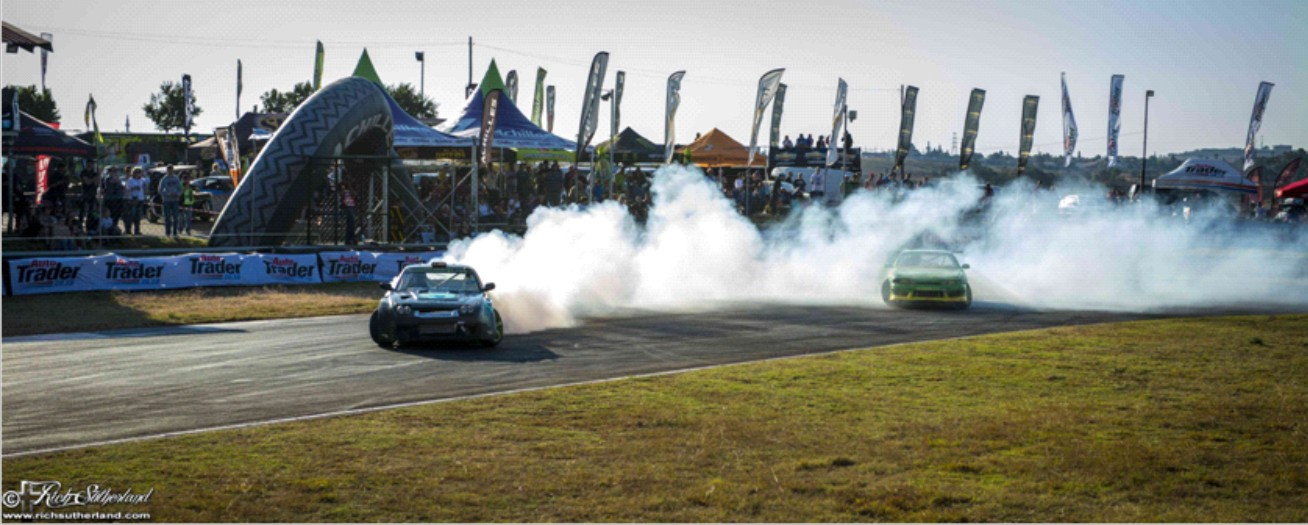 The Supadrift Series final round of drifting come to the Durban Motor Show