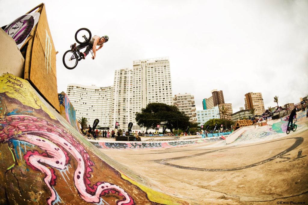 BMX Direct Ghetto Jam at Durban Beachfront