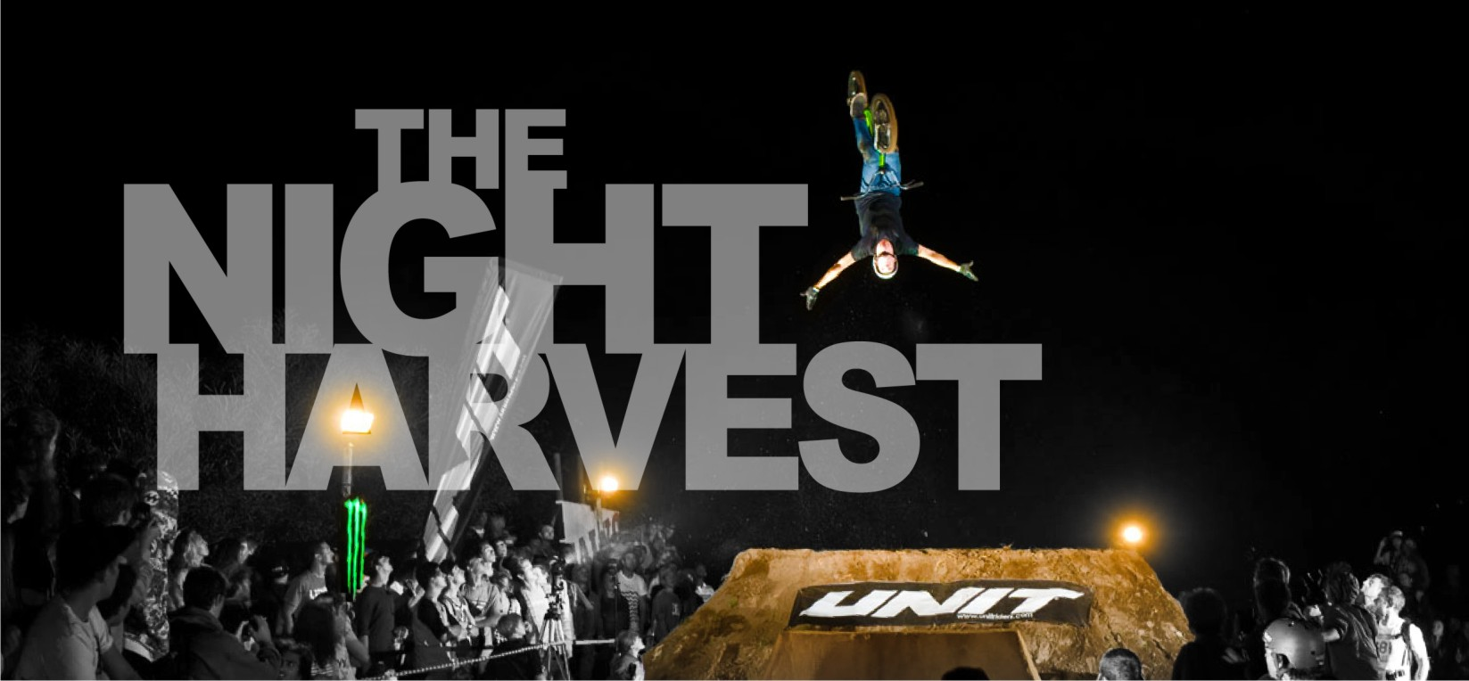 The Night Harvest 2014 BMX and MTB dirt comp is here