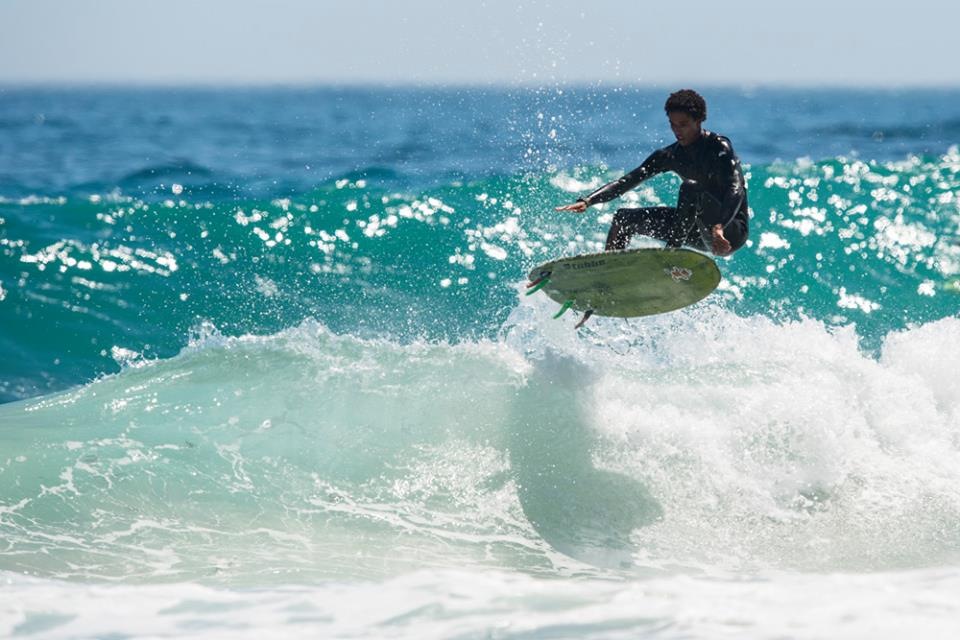 Mikey February surfing his way to another win