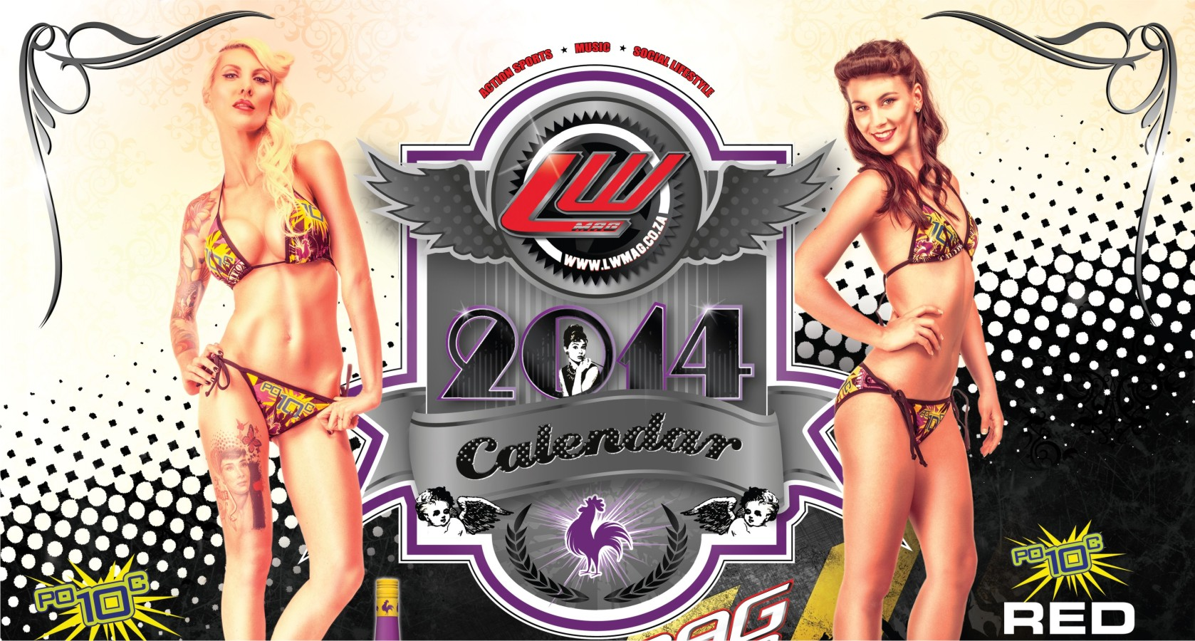 Behind the scenes video from our 2014 LW Mag calendar shoot featuring some of the hottest SA babes