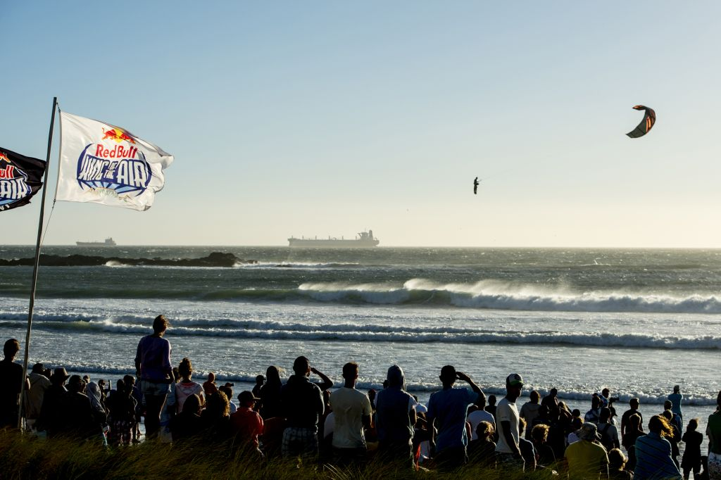Perfect conditions for Kiteboarding at this years Red Bull King of the Air