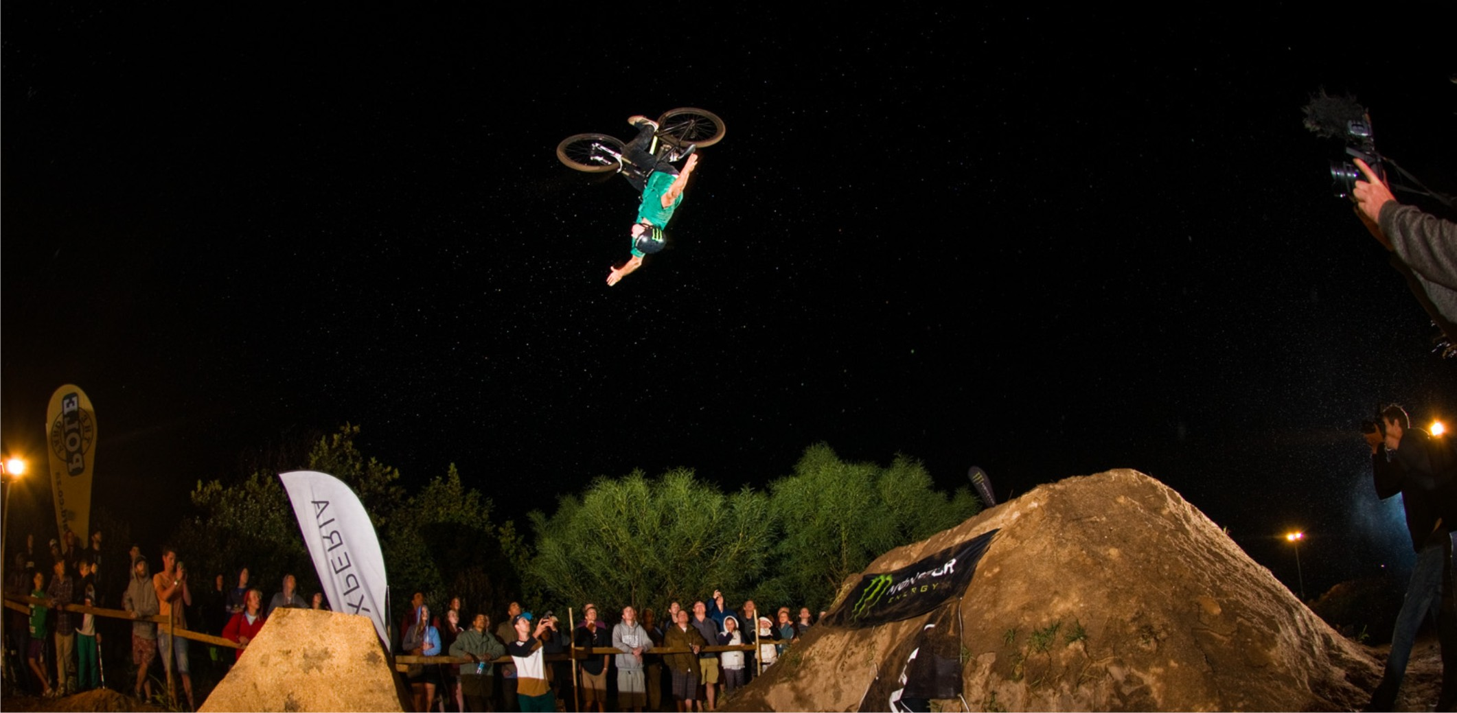 The Night Harvest BMX and MTB Dirt Contest