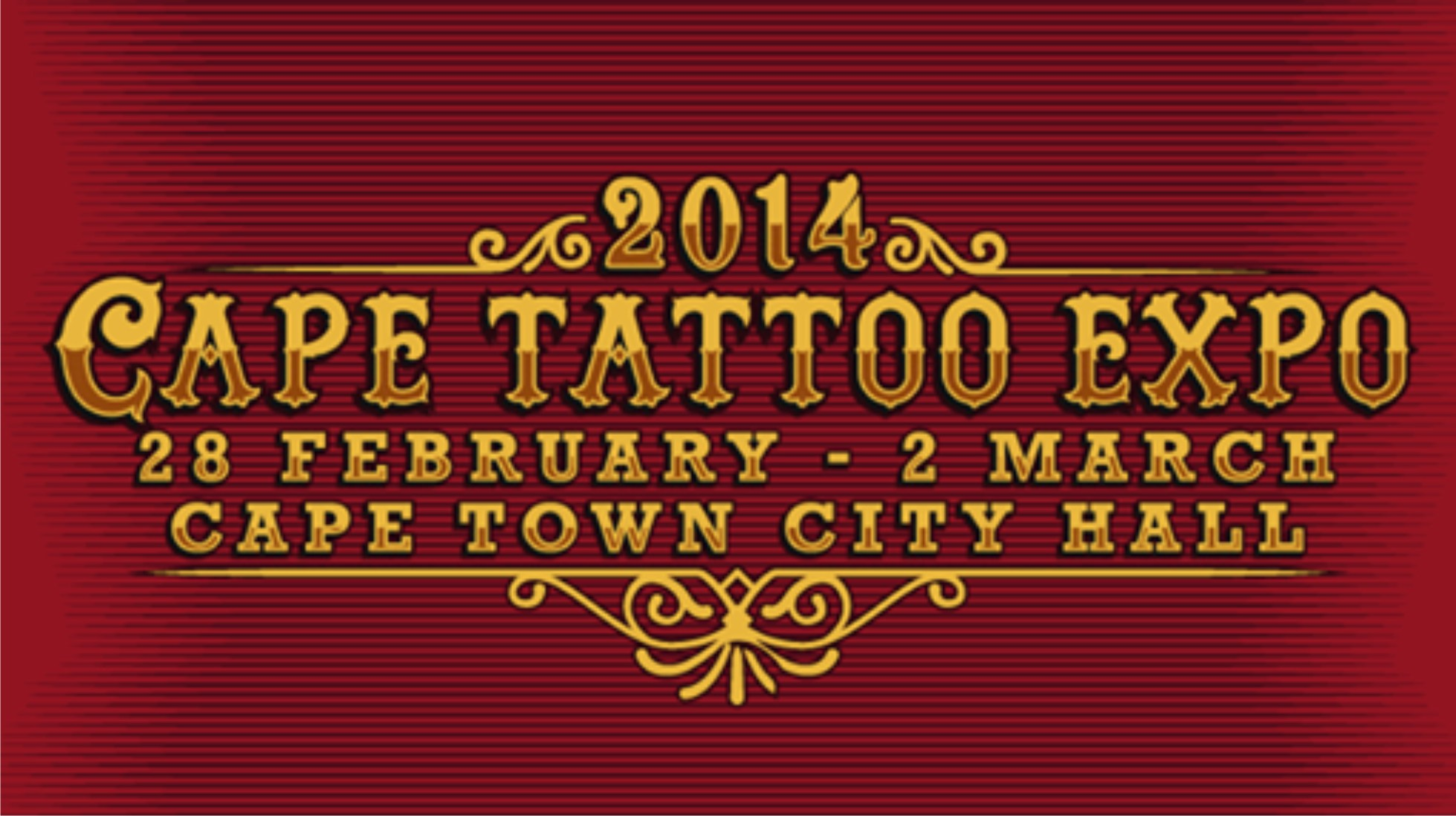 Details for the 2014 Cape Tattoo Expo