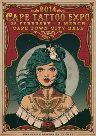 The 2014 Cape Tattoo Expo is around the corner