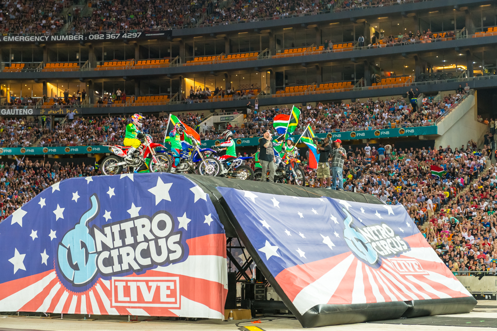 The Biggest Action Sports Show in History - Nitro Circus Live South Africa