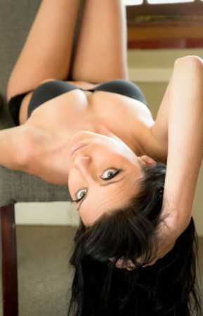Nicole prooving why she is one of the hottest South African babes